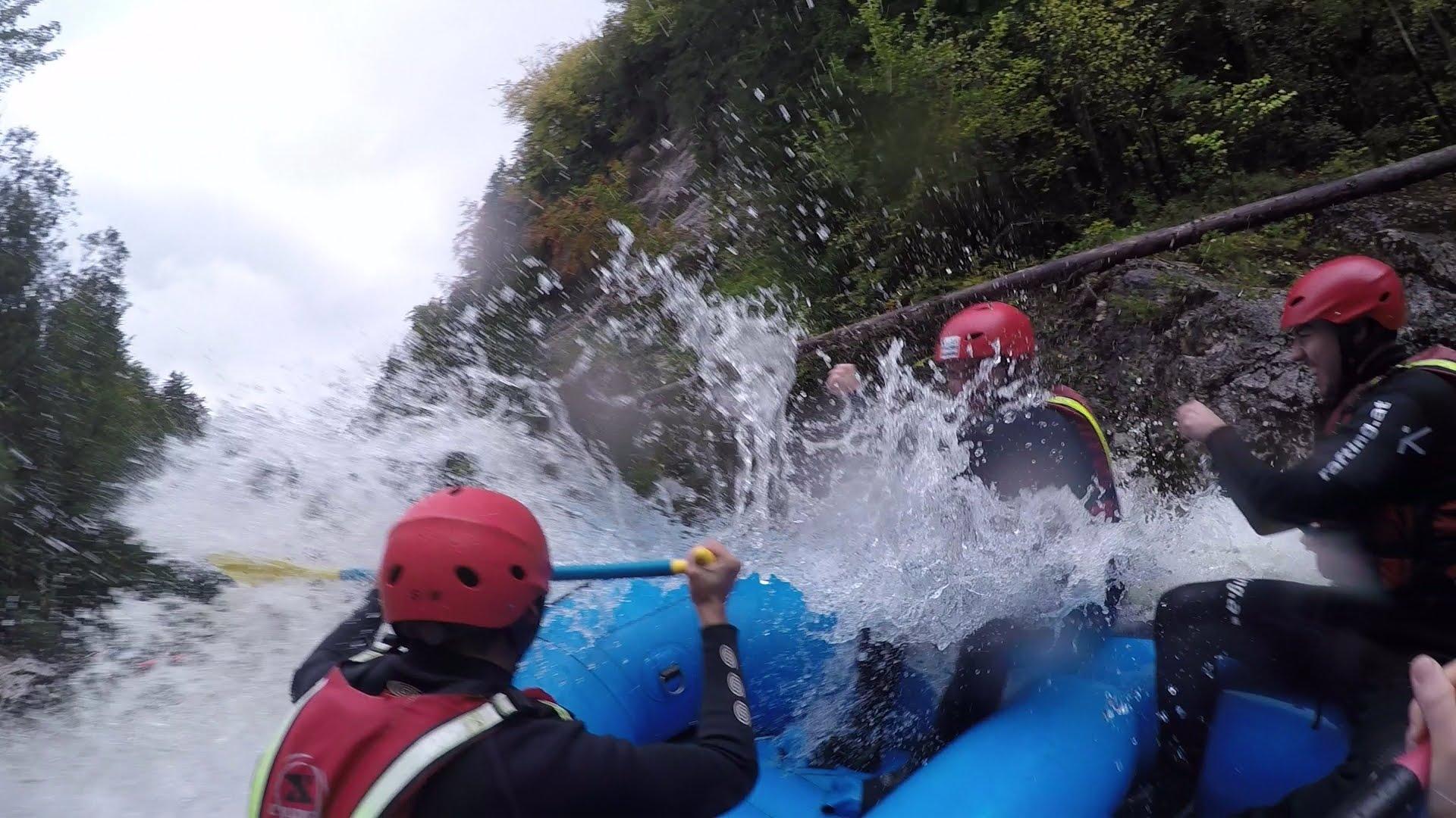 Salza rafting